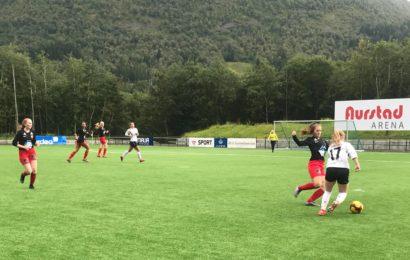 Ørsta A-lag damer slo Bergsøy A-lag damer 7-0