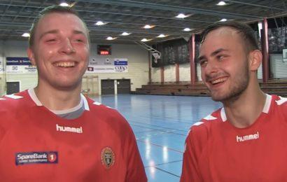Intervju med Bergsøy-signeringane Jovaisas og Petrušis