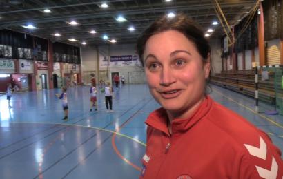 Mykje liv på handballskule i Herøy