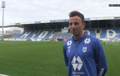 Før FFK-Hødd med Robin Hjelmeseth