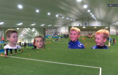Fotballglede på miniturnering