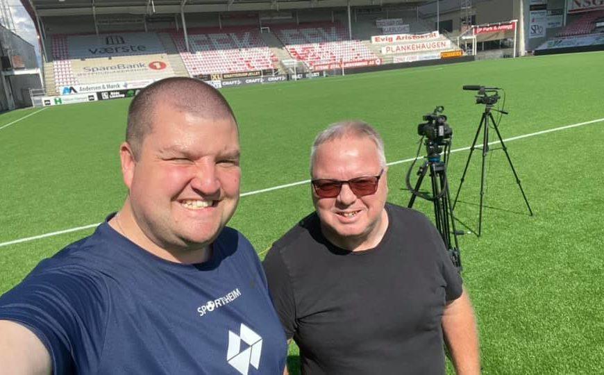 Sportsheim møter Dag Solheim