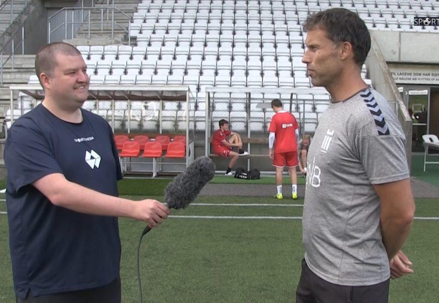 Sportsheim møter Ronny Johnsen
