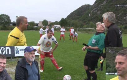 Prestisje og moro då Moltu og Bergsøy møttes til showkamp