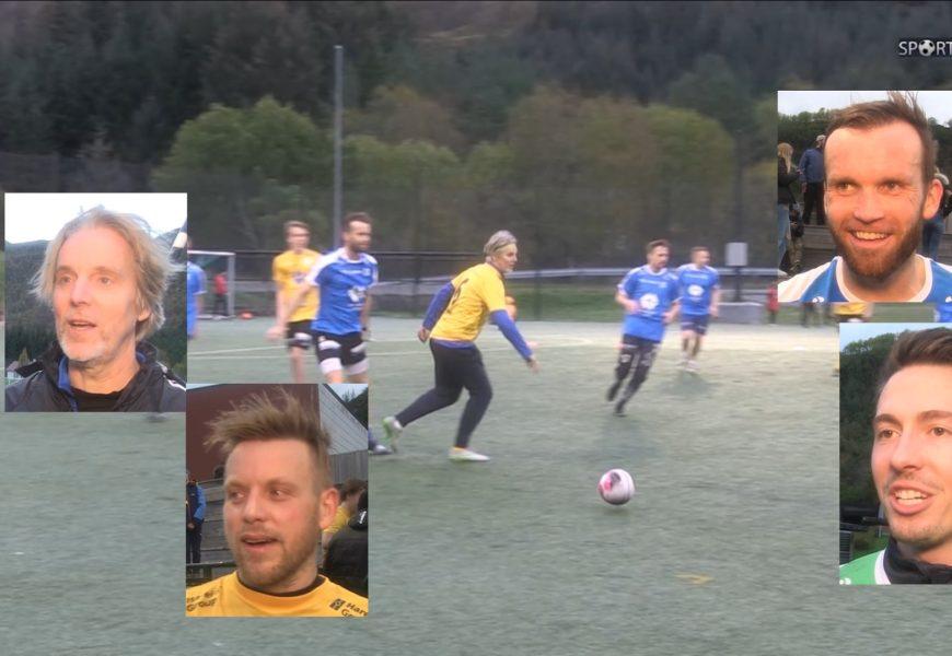 Målfest på Jan Åge Fjørtoft sin showkamp i Gursken